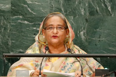 Increase determined contributions to combat climate change: Hasina