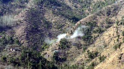Intense shelling by Pak along LoC in J&K's Poonch district