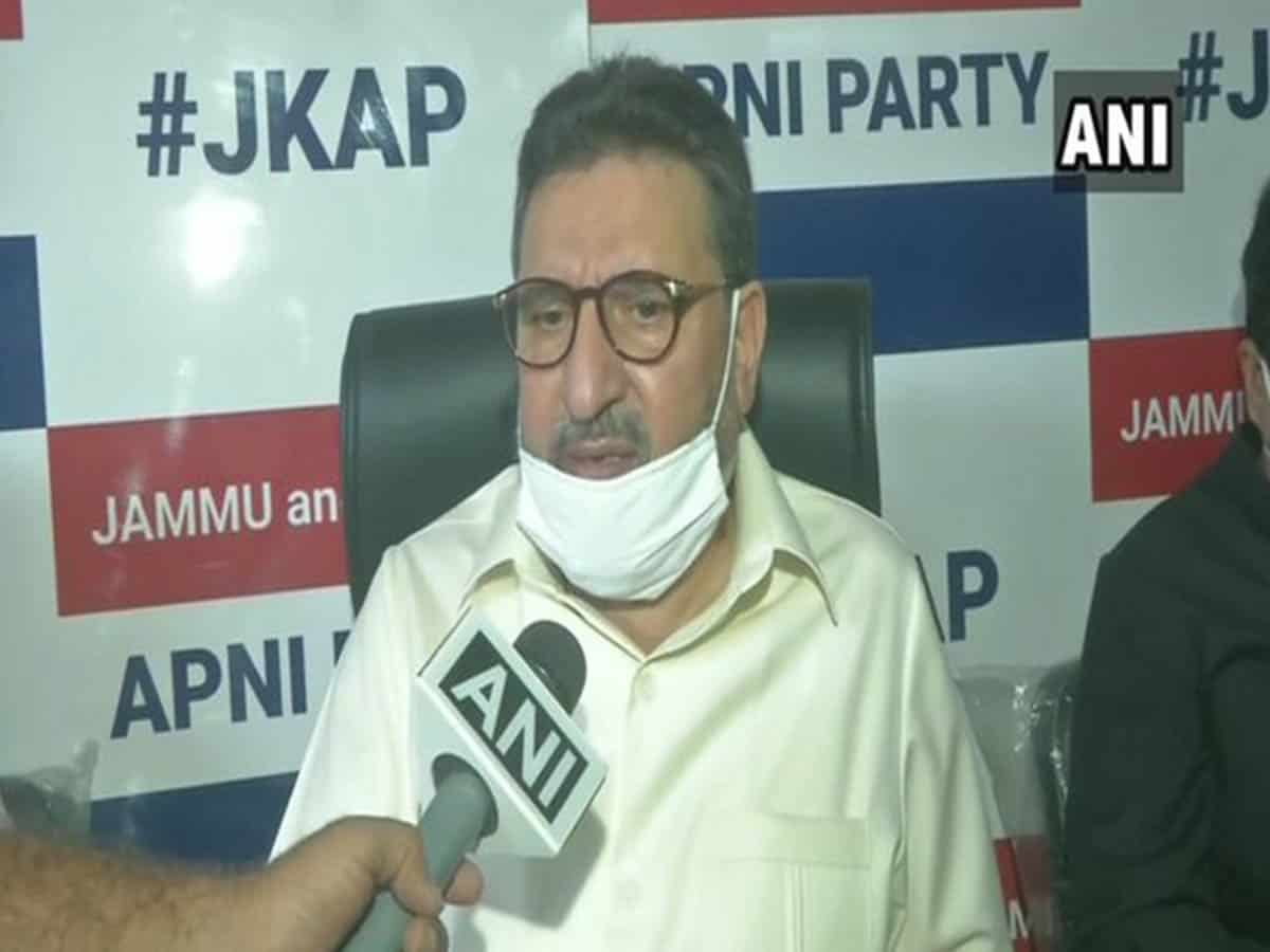 Economic package for J-K is a 'drop in the ocean': JKAP Chief Altaf Bukhari