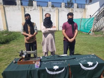 J&K police nabs 3 terror associates of LeT