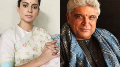 Photo of Kangana Ranaut reacts after Javed Akhtar tweets 'Bhagat Singh was Marxist'