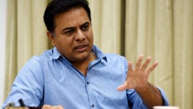 Photo of KTR holds tele-conference with TRS party cadre regarding MLC elections