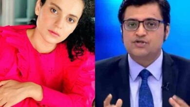 Photo of Kangana Ranaut comes out in support of Arnab Goswami