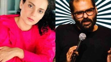 Photo of Kangana responds to Kunal Kamra's comment on security of actress