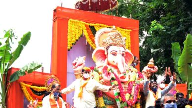 Photo of Khairatabad Ganesh Shobha Yatra begins, KCR to get Balapur laddu