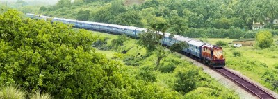 Konkan Railways delivers 2 DEMU train sets to Nepal Railways