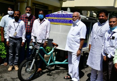 K'tka CM distributes solar operated carts to select beneficiaries