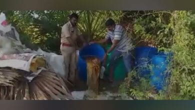 Photo of Nellore: 3,500 litres jaggery wash destroyed in country liquor raids