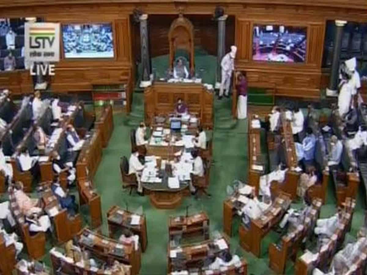 Lok Sabha passes bill to reduce salaries of MPs by 30 pc