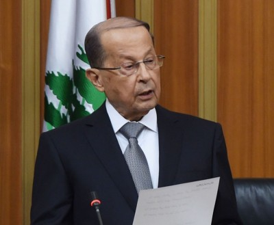 Lebanon to tackle illegal crossing problems: President