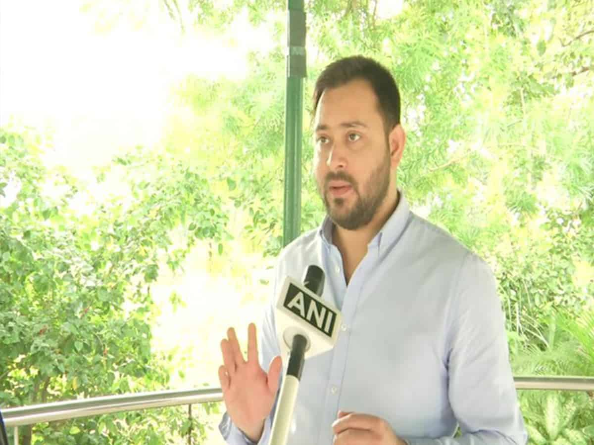 Patna (Bihar) [India], September 8 (ANI): If Chief Minister Nitish Kumar's Janata Dal (United) fought the Bihar Assembly elections alone it wouldn't be able to get seats even in double digits, claimed Rashtriya Janata Dal (RJD) leader Tejashwi Yadav on Tuesday. The Leader of Opposition in Bihar recounted the fate of Kumar's JDU in elections which it had fought alone without any alliance with either the BJP or Congress, RJD coalition.