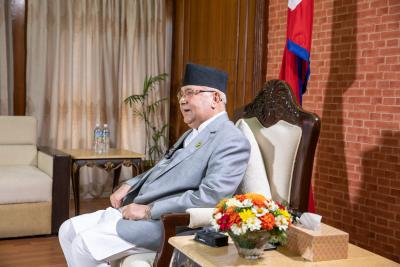 Nepal OM Oli calls for early adoption of int'l pact against terrorism