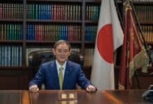 Photo of New Japanese PM holds 1st phone talks with Trump