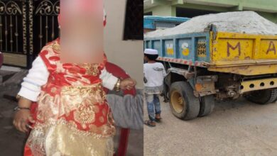 Photo of Hyderabad: 3-year-old girl crushed to death by truck