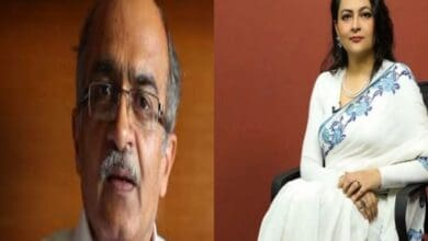 Photo of Join Prashant Bhushan and Arfa Khanum in a Zoom conference today