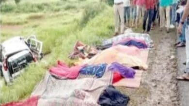 Photo of Gulbarga: Seven people of the same family die in a road accident