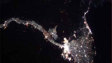 Photo of Watch: Stunning pics of river Nile by NASA