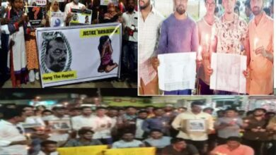 Photo of Telanganites' protests echo 'justice for Nazia'