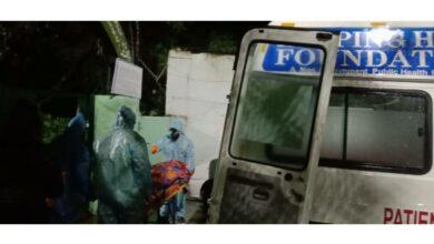 Photo of COVID-19 Stigma: Ambulance turns into temporary mortuary