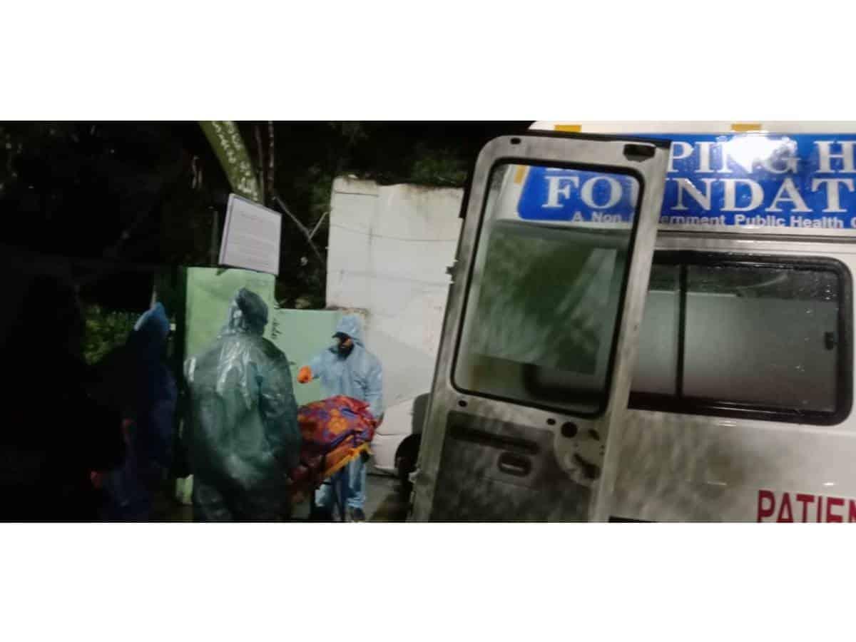 COVID-19 Stigma: Ambulance turns into temporary mortuary