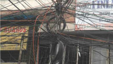 Photo of Tangling cable wires a threat to residents and commuters