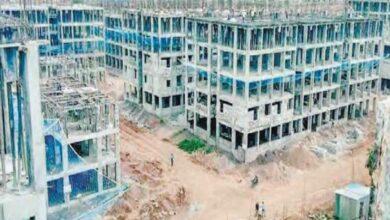 Photo of KTR, Speaker Srinivas inspects 2BHK flats project site in Kollur