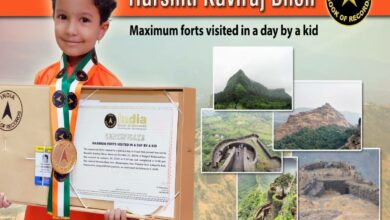 Photo of 5-year-old climbs five forts in one day, sets world record