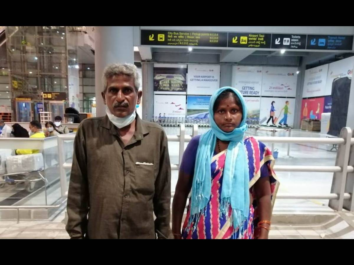 Amnesiac migrant worker from UAE returns home after 16 years