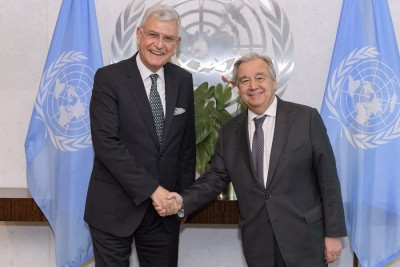 New UNGA president says he'll promote UNSC reform impartially
