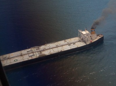 No cause for alarm on oil tanker after fire doused: Coast Guard