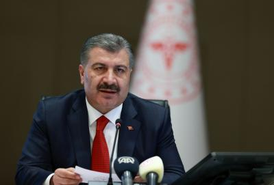 'No slowdown in transmission rate of COVID-19 in Turkey'