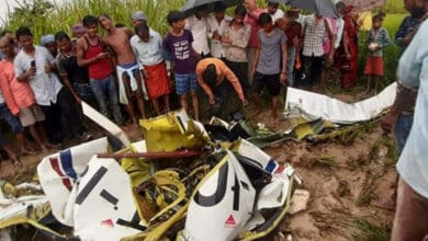 Photo of TB 20 aircraft crashes in UP's Azamgarh; pilot dies