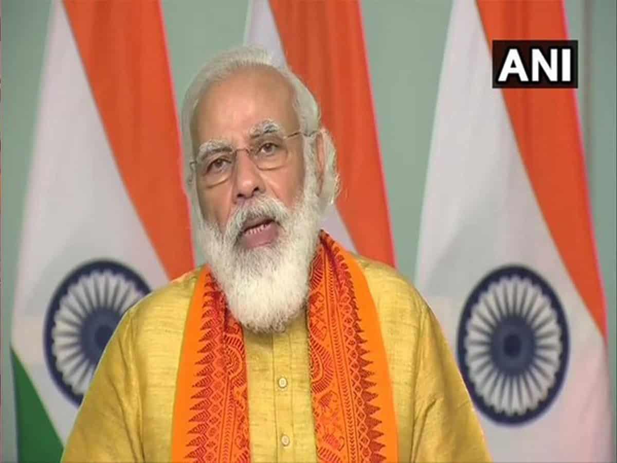 PM Modi inaugurates projects worth Rs 521 cr under Namami Gange Mission in Uttarakhand