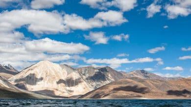 Photo of China starts fresh build-up north of Pangong Lake