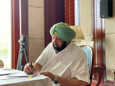 Punjab CM announces Rs 50 lakh for upkeep of Bhagat Singh's memorial