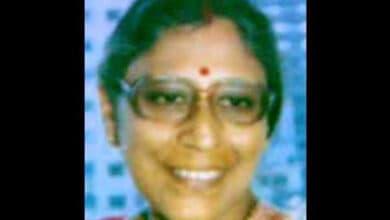 Photo of Veteran Rabindra Sangeet exponent Purba Dam dies
