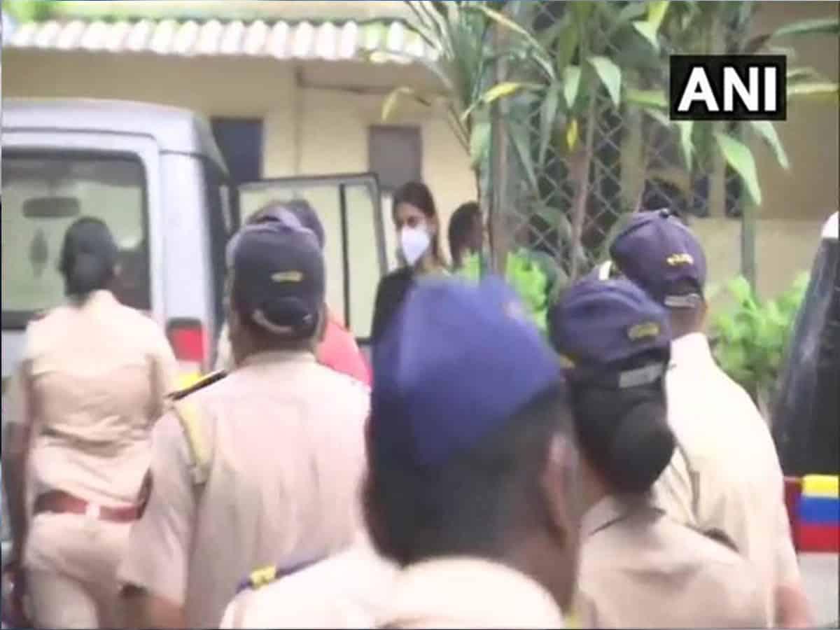 Rhea Chakraborty taken to Byculla jail