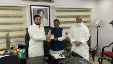 Photo of Bihar RLSP president Bhudeo Chaudhary joins RJD