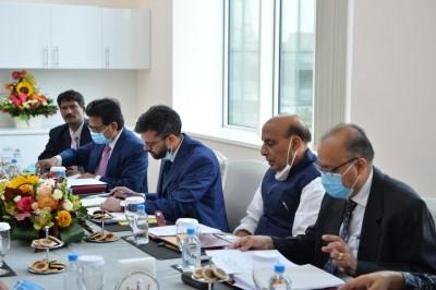 Rajnath to halt in Tehran, meet Iranian counterpart