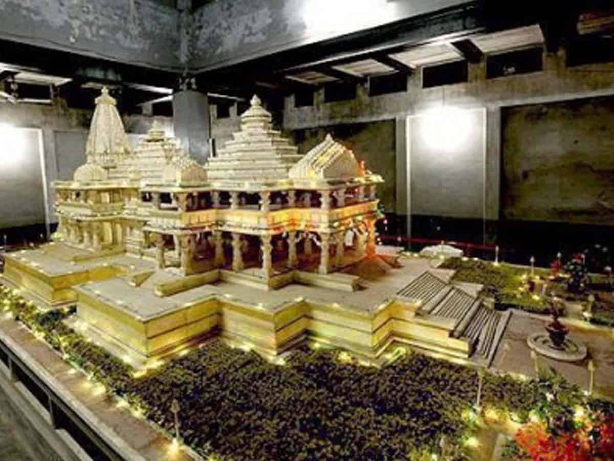 Ram temple Trust applies for permission to accept funds from abroad