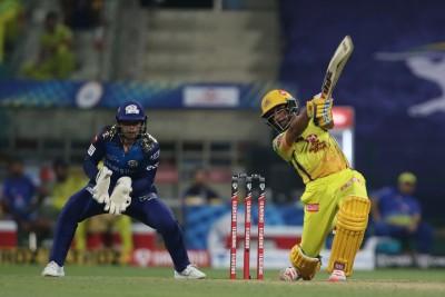 Rayudu, du Plessis 50s help CSK beat MI in IPL opener