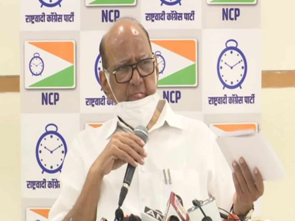 NCP chief Sharad Pawar to observe fast in support of suspended Rajya Sabha MPs