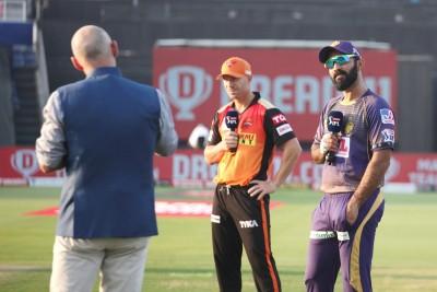 SRH win toss, choose to bat against KKR