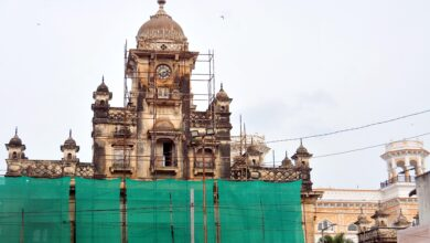 Restoration works began at Chowmahalla Palace