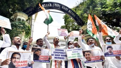 Photo of Congress wants Wakf Board members booked for Secretariat mosques demolition
