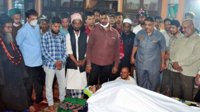 Photo of Yousufain Dargah mutawalli laid to rest