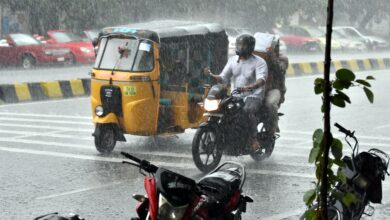 Photo of Telangana to receive heavy rainfall for next 4 days