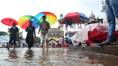 Photo of IMD sounds warning, rains to continue in Hyderabad and TS
