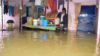 Photo of Heavy rains flood in Nadeem Colony, Tolichowki