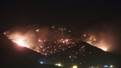 Photo of Massive fire erupts in Makkah's Taif, continues to blaze